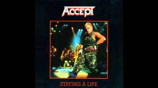 Accept - Staying a Life [Live in Osaka - Full Album] (1985)