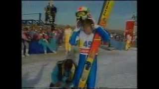 Matti Nykaenen vs Eddie The Eagle Edwards
