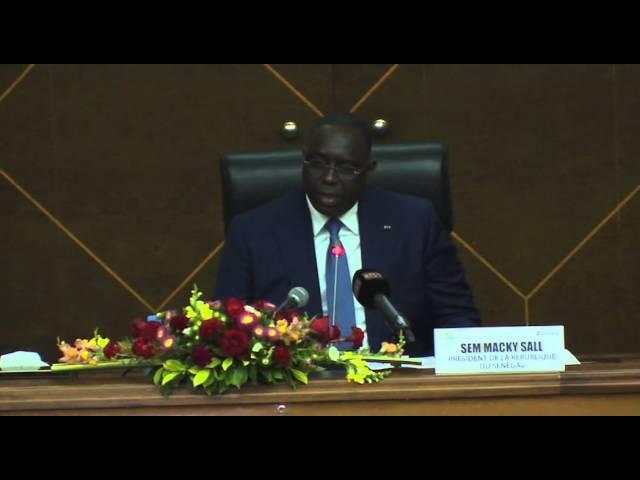 Extrait du Président Macky Sall sur les différents domaines intéressés par les PPP