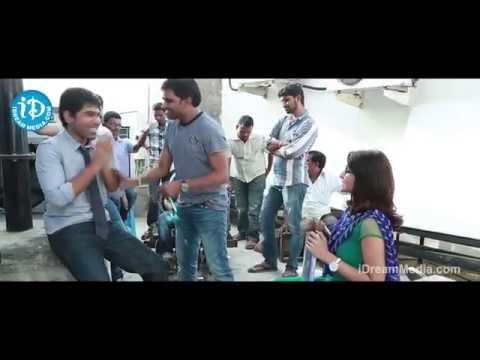 Kotha Janta Movie   Making
