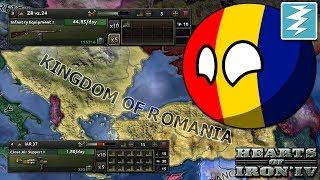 HOW TO MAKE SUPER ROMANIA - CHEAT/EXPLOIT - Hearts of Iron 4 (HOI4)