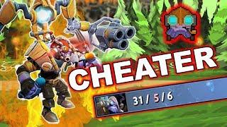 Dota 2 Cheater - Tinker with AUTO-KILL script!
