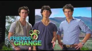 Join Disney's Friends For Change - Jonas Brothers