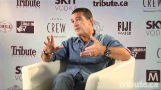 Antonio Banderas - The Skin I Live In Interview at TIFF 2011