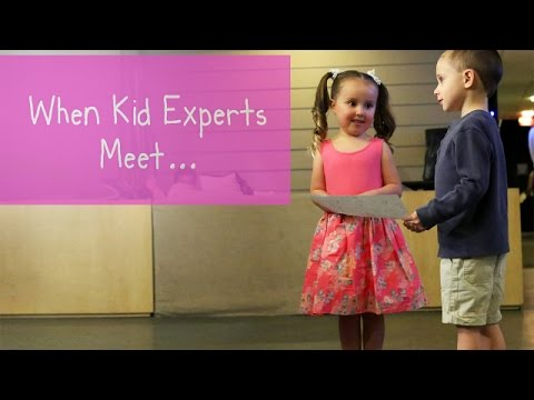 Kid Experts Brielle and Nate s Memorable Meeting