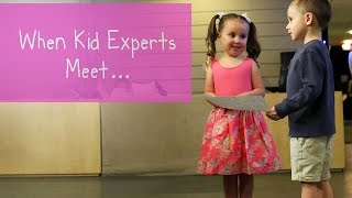 Kid Experts Brielle and Nate