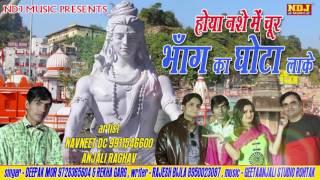 2016 Superhit Bhole DJ Dance Bhajan # Bhang Ka Ghota Lake # Deepak Mor # NDJ Music