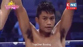 គូនេះជក់ចិត្តមែនទែន, ឡុង សំណាង ប៉ះ ចេកនួន Long SamNang Vs Jack Noun((Thai),Kun Khmer Boxing,CNC TV