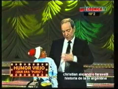HISTORIA DE LA TV ARGENTINA CHASMAN Y CHIROLITA CRÓNICA TV
