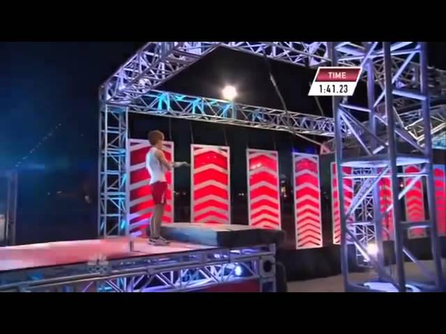 Ninja Warrior USA vs JAPAN   STAGE 3