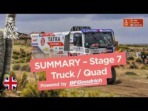 Xxx Mp4 Summary Truck Quad SxS Stage 7 La Paz Uyuni Dakar 2018 3gp Sex