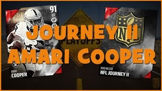 MUT 16 | Journey II Complete! Amari Cooper Joins The Squad - Reward Pack Opening