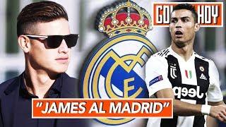 """""""James asegura volver al Real Madrid"""" I Cristiano: """"Merecí ganar el Balón de Oro"""""""