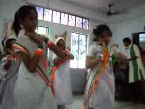 Dreamland School, Makhla, Uttarpara of West Bengal celebrating Independence day 2010