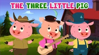 Three Little Pigs | Bedtime Stories | MagicBox English Kids