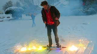 Modding our Hoverboard with Fireworks!