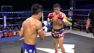 (CHINA VS THAILAND) Max Muay Thai Ultimate 2016 (27 MARCH) Match 4 LUO JIE VS BOONMARK