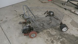Shopping Cart Go-Kart!