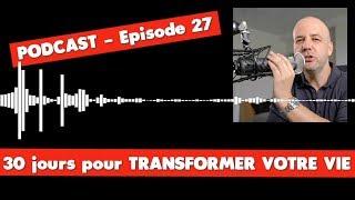 TRANSFORMER VOTRE VIE 27/30 - COACHING DAVID KOMSI