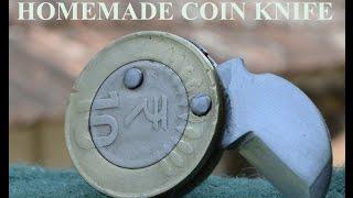 Homemade Coin Knife Sharp as a razor