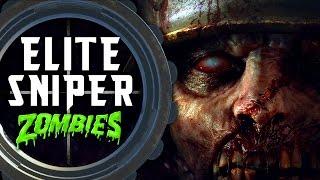 Elite Sniper Zombie Challenge 💀 Call of Duty Black Ops 3 Custom Zombies