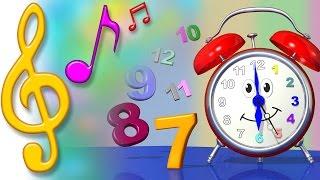 TuTiTu Songs | Clock Song  | Songs for Children with Lyrics