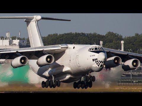ILYUSHIN IL-76 MIDNIGHT Departure with INCREDIBLE SOUND