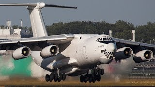 ILYUSHIN IL-76 MIDNIGHT Departure with INCREDIBLE SOUND