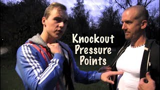 Hit These 5 Points for Knockout & Serious Injury in a Street Fight   Nerve Center Pressure Points