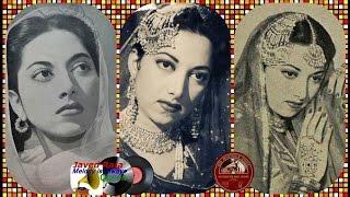 SURAIYYA~Film~NEELI ~[1950]~Chori Chori Aana Ho Raja Mere Dilke~[ Great Gem ]