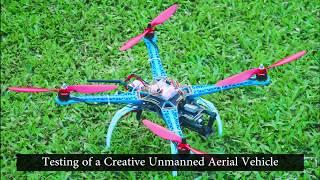 First Drone in JKKNIU