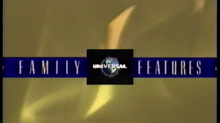 Universal Studios – Family Features Collection (2001) Promo (VHS Capture)