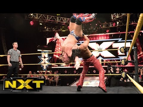 Shinsuke Nakamura vs. Wesley Blake:, July 27, 2016 WWE NXT