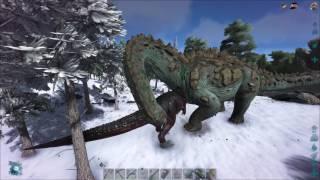 ARK  Survival Evolved - 100% Imprint Giga vs Wild Titan - Official Server