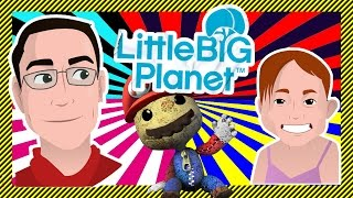 LittleBigPlanet With G-Daughter! - Watch G-Dad and G-Daughter Play the Original LittleBigPlanet Game