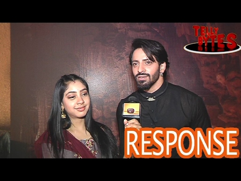 Niti Taylor and Vikas talk about the RESPONSE on Ghulaam