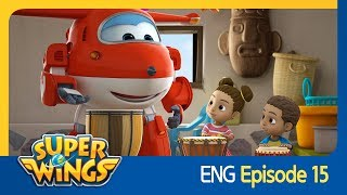 [Super Wings] EP 15 - Gorilla Band(ENG)