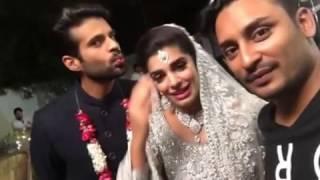 Exclusive Sanam Saeed and adnan Malik at set of banjrara