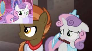 This Is So Cute!!!!!! Sweetie Belle Reacts To: Don't Mine At Night (Pony Parody)