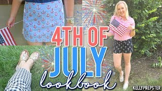PREPPY 4TH OF JULY LOOKBOOK 2017 (Lilly Pulitzer, J.Crew, Target & MORE!) || Kellyprepster