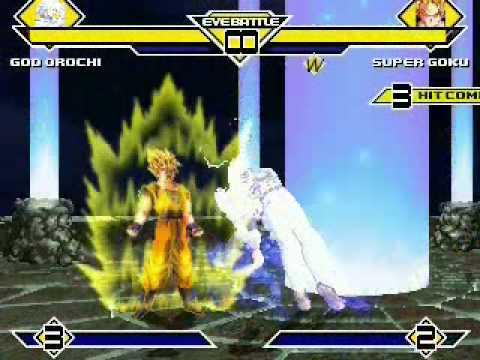 God Orochi vs Super Goku