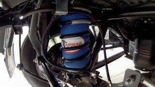 In Action: NP300 Navara Air Suspension - CR5134HP Airbag Man Coil Helper Kit