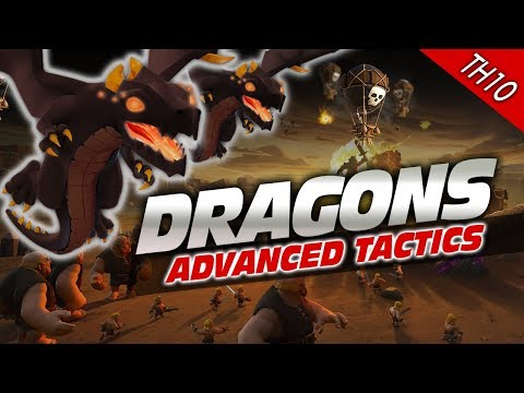 Clash of Clans MORE DRAGONS Strategy for TH10 Attacks