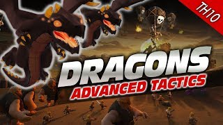 Clash of Clans: MORE DRAGONS! Strategy for TH10 Attacks
