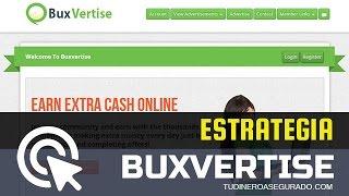 Buxvertise Estrategia 2016 - Como ganar dinero para PayPal 2016 | Tu Dinero Asegurado