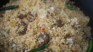 How To Make Beef Biriyani Restaurant Style Bangladeshi Food (বিফ বিরিয়ানী)