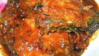 Fish Kalia (Macher Kalia/Bengali Fish recipe)