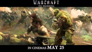 On MAY 25, the battle for survival begins #WarcraftMoviePH