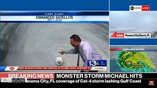 Hurricane Michael Makes Landfall - CAT 4 - Strongest Storm In History