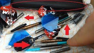 6 Sets Darts! Hammer Paket Von Leroy Und Ich Zieh Mir Die Mervyn King 26g Steeldarts Genauer Rein